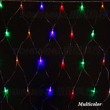 Colored Christmas Lights by Aliexpress Com Buy 8 Modes Led Net Light Waterproof 1 5 1 5m