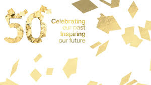 50th anniversary celebrating our past inspiring our future
