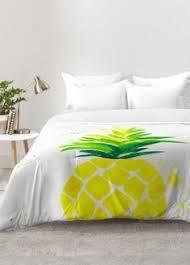 funky pineapples duvet covers qwerky bedding for girls of all