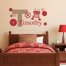 Name On Bedroom Wall Robot Names Promotion Shop For Promotional Robot Names On