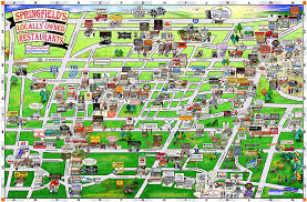 springfield map springfield resturants home