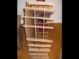cardboard furniture arched bookcase youtube