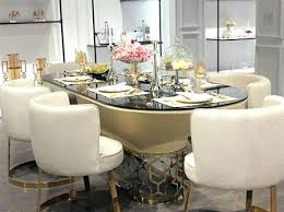 gold dining table set gold dining room table modern dining table set gold painted dining