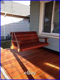 Handmade Wooden Outdoor Furniture by Handmade Wood Porch Swing Patio Swing Patio Furniture Bench