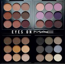 the new eyes on mac eye shadow palettes review glorious makeup