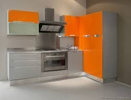 Modern Orange Kitchen Cabinets I Really Like This Kitchen - Orange kitchen cabinets