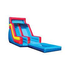 16 u0027 backyard wet u0026 dry slide with pool inflatable