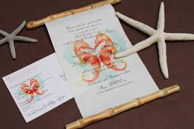 wedding invitation ideas chraming beach invitations wording