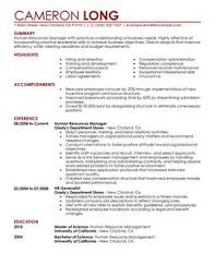 exle of resume resume sle venturecapitalupdate