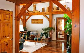 a frame home interiors timber frame homes southwest log homes