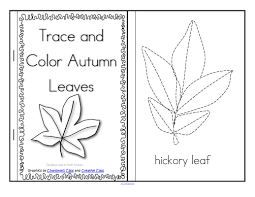 leaves theme activities and printables for preschool and