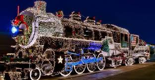 denton county christmas lights country christmas train experience the christmas magic in the