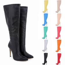 inexpensive womens boots size 11 discount green thigh boots 2018 green thigh high boots on sale