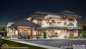 aesthetic looking house plan kerala home design and floor plans