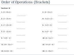 order of operations bodmas bidmas worksheets by ukmaths teaching