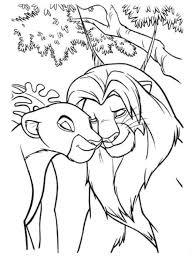 nala lion king coloring animal coloring pages boys