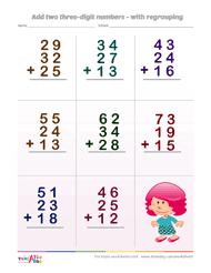 adding 3 numbers testaday
