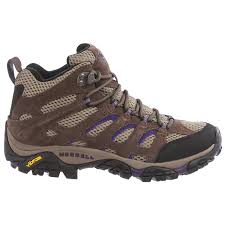 womens hiking boots size 9 merrell moab ventilator mid hiking boots for save 36