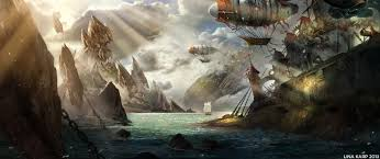 pirate bay by schur on deviantart
