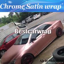 rose gold car 2018 rose gold chrome satin car wrap vinyl styling foil satin