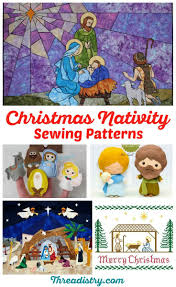 sew your own christmas nativity
