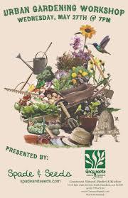 Urban Kitchen Pasadena - free urban gardening workshop grassroots natural market u0026 kitchen