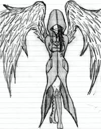 easy drawing of an angel 1000 ideas about angel drawing on