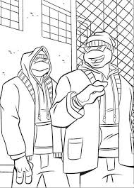 88 ninja turtles coloring pages images teenage