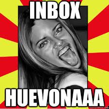 Inbox Meme - inbox huevonaaa puta weona quickmeme