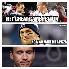 Peyton Manning Tom Brady Meme - tom brady peyton manning funny peyton manning vs tom brady from