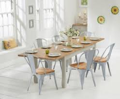 white and gray dining table painted dining sets oak and grey the great furniture trading company