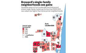 Zip Code Map Broward by Locked Out Of Boom Buyers Hunt For New Housing Spots Miami