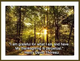 thoreau on thanksgiving