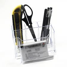 clear acrylic desk organizer clear acrylic desk organizer lipstick brush pen storage holder