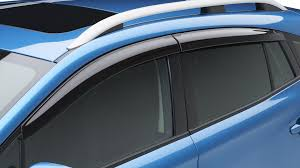 Exterior Door Rain Deflector by Subaru Rain Guard Deflector Kit 17 Impreza 5d 18 Crosstrek