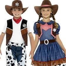 wild west cowboy or cowgirl texan kids fancy dress rodeo western
