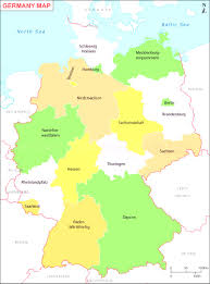 map of germany showing rivers map of german states and cities thumbalize me