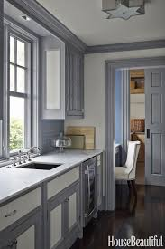 gray kitchen cabinets with white trim andrew howard gray kitchen window size painted trim