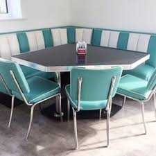 diner style booth table bel air t booth set 24 cafetería tata pinterest bel air retro