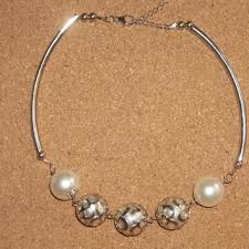 large silver bead necklace images Best large silver bead necklace products on wanelo jpg