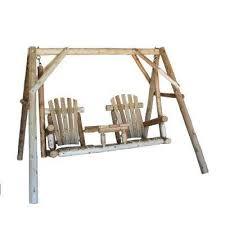 Swings Patio Wood Patio Swings Patio Chairs The Home Depot