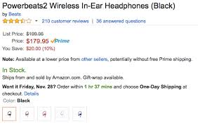 amazon beats headphones black friday beats by dre 9to5toys