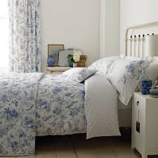 beautiful bird floral printed duvet cover set with sanderson