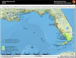 Gulf Coast Of Florida Map by Ncptt Gulf Coast Cultural And Natural Resources