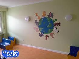 fresque murale chambre bébé fresque murale chambre bb cool couleur chambre enfant ides part