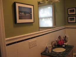 chair rail height bathroom wonderfull