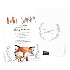 baby shower invitations custom designs from pear tree