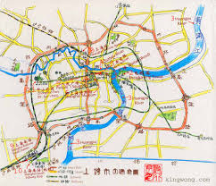 China Map Cities by City Maps Stadskartor Och Turistkartor China Japan Etc Travel