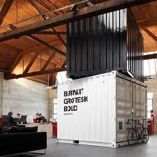 bureau container achetez un container à pour en faire un bureau