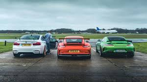 porsche gtr 2017 mercedes amg gt r vs porsche 911 gt3 rs vs bmw m4 gts top gear